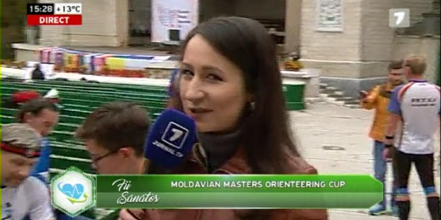 Moldavian Masters Orienteering Cup (Jurnal TV)